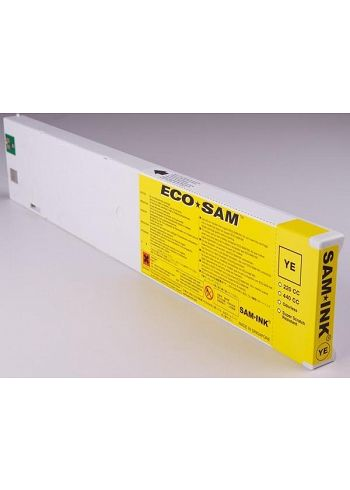 CARTUCCIA ROLAND ECO-SOL MAX GIALLO 440ML COMPATIBILE